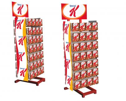 Rack display